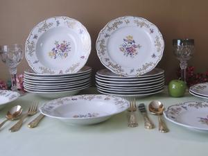 Набор тарелок Мейсенский букет Weimar Германия. Ярмарка Мастеров - ручная работа, handmade.