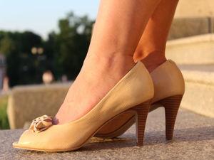 Туфли кожаные классные за 100 рублей!. Ярмарка Мастеров - ручная работа, handmade.
