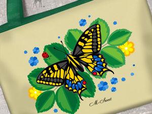 «Краски лета» крупным планом. Ярмарка Мастеров - ручная работа, handmade.