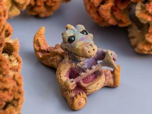 Изготовление фигурки «Крокодил Луи» из бронзовой глины. Часть 1. Формообразование. Ярмарка Мастеров - ручная работа, handmade.