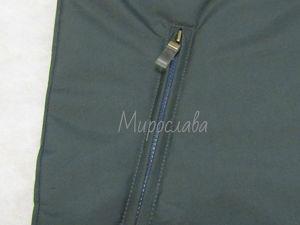 Шьем карман в рамку с молнией в изделиях из плащевой ткани. Ярмарка Мастеров - ручная работа, handmade.