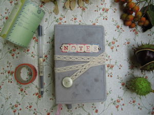 Блокнот  «Notes»  (джанкбук). Ярмарка Мастеров - ручная работа, handmade.