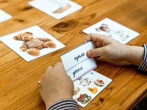Карточки для чтения. Ярмарка Мастеров - ручная работа, handmade.