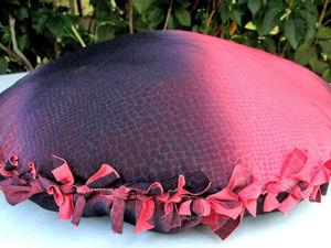 Как сделать красивую подушку без использования иголки и ниток: видео мастер-класс. Ярмарка Мастеров - ручная работа, handmade.