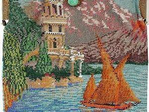 Исторические тайны антикварной бисерной сумочки. Ярмарка Мастеров - ручная работа, handmade.