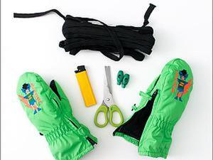 Как сделать так, чтобы варежки не слетали с детских ручек. Ярмарка Мастеров - ручная работа, handmade.