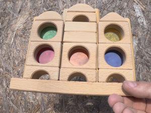 Вставляем цветное акриловое стекло в сенсорную пирамидку. Часть 2. Ярмарка Мастеров - ручная работа, handmade.