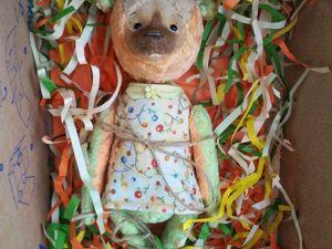 Как быстро и просто упаковать мишку Тедди или куклу в почтовую коробку. Ярмарка Мастеров - ручная работа, handmade.