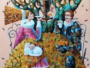 Ирина Юрчук — Мандариновый сад. Ярмарка Мастеров - ручная работа, handmade.