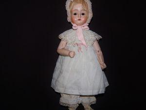 Антикварная деревянная куколка Bebe Tout en Bois. Ярмарка Мастеров - ручная работа, handmade.