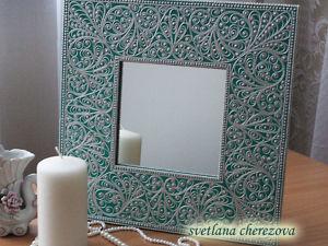 Мастер-класс Зеркало  «Серебро». Ярмарка Мастеров - ручная работа, handmade.
