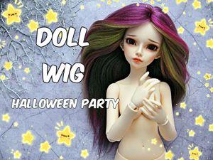 Создаем парик для куклы. Подробный мастер-класс. Ярмарка Мастеров - ручная работа, handmade.
