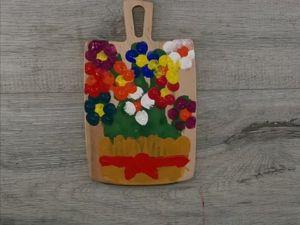 Мастер-класс для самых маленьких: подарок для мамы (0+). Ярмарка Мастеров - ручная работа, handmade.
