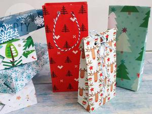Let's Make a Paper Gift Bag!. Livemaster - handmade
