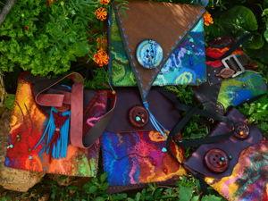 Архив. Первые сумочки — 2012 г. Ярмарка Мастеров - ручная работа, handmade.