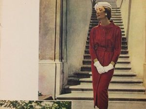 Spring 1958 Odivani Fashion Magazine: Classical Design Popular Now. Livemaster - handmade
