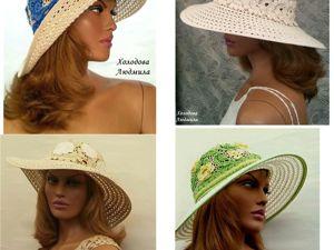 Видео. Четыре шляпки для Натальи. Ярмарка Мастеров - ручная работа, handmade.
