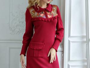 Аукцион на оригинальное вязаное платье! Старт 2500 руб.!. Ярмарка Мастеров - ручная работа, handmade.