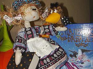 Шьем маленькую Бабу-ягу. Ярмарка Мастеров - ручная работа, handmade.