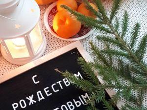 С Рождеством!!!!!. Ярмарка Мастеров - ручная работа, handmade.