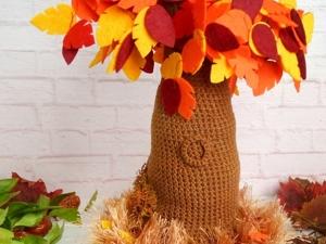 Crochet Tree Pattern. Ярмарка Мастеров - ручная работа, handmade.