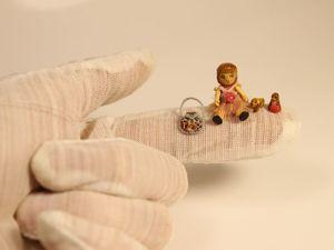 Крошка Люси (деревянная миниатюра). Ярмарка Мастеров - ручная работа, handmade.