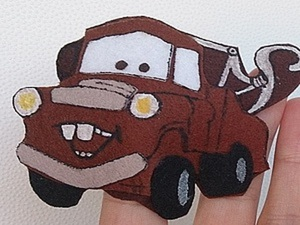 Создаем пальчиковую игрушку Мэтра, героя всеми любимого мульфильма «Тачки». Ярмарка Мастеров - ручная работа, handmade.