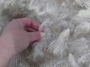 Подготовка шерсти для валяния. Ярмарка Мастеров - ручная работа, handmade.