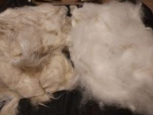Беседа о козьем пухе и каким он бывает. Рассмотрим волокно для прядения от разных пород коз. Ярмарка Мастеров - ручная работа, handmade.