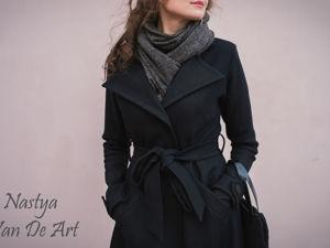 Аукцион на элегантное женское пальто! Старт 3500 р!. Ярмарка Мастеров - ручная работа, handmade.