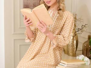 Новая коллекция платьев в горошек. Ярмарка Мастеров - ручная работа, handmade.