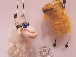 Мастер-класс «Осень, а вокруг одни козы и козлы...». Ярмарка Мастеров - ручная работа, handmade.