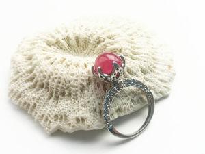 Видео кольца с натуральным рубином. Серебро 925 пробы. Ярмарка Мастеров - ручная работа, handmade.