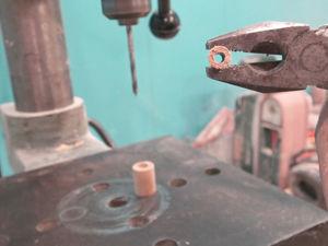 Лайфхак: как просверлить сквозное отверстие в шканте. Ярмарка Мастеров - ручная работа, handmade.