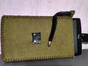 Изготавливаем чехол для планшета своими руками. Ярмарка Мастеров - ручная работа, handmade.