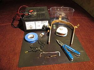 Гальванопластика для чайников подручными средствами: часть1. Гальваническая установка. Ярмарка Мастеров - ручная работа, handmade.