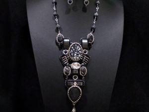 Аукцион на комплект  «Монохром»  сейчас в блоге!. Ярмарка Мастеров - ручная работа, handmade.
