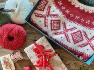 Вяжем новогодние подарки. Ярмарка Мастеров - ручная работа, handmade.