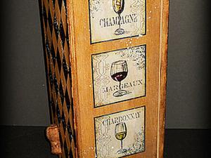 "Футляр для вина ""Домино"".. Ярмарка Мастеров - ручная работа, handmade."