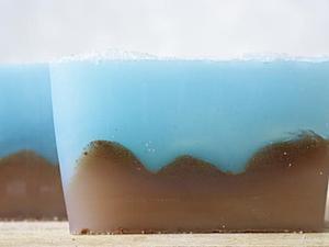Создаем мыло-пилинг «Морское дно». Ярмарка Мастеров - ручная работа, handmade.