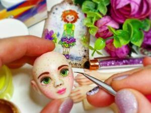 Когда рождается кукла?. Ярмарка Мастеров - ручная работа, handmade.