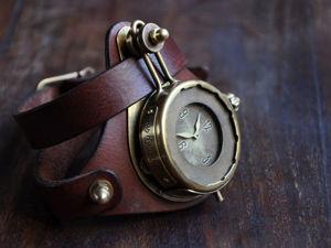 Часы Das Kabinett Watches — сдержанный и самобытный мужской стимпанк. Ярмарка Мастеров - ручная работа, handmade.