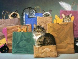 Акция  « Кот в мешке ». Ярмарка Мастеров - ручная работа, handmade.