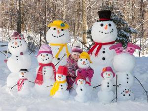 Мир необычных снеговиков. Ярмарка Мастеров - ручная работа, handmade.