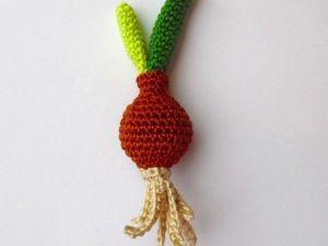 Вяжем крючком луковку. Ярмарка Мастеров - ручная работа, handmade.