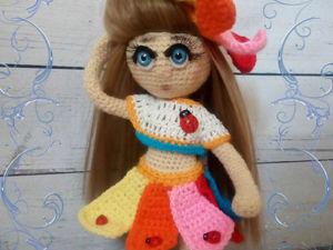 Мастер-класс: Радужная куколка. Ярмарка Мастеров - ручная работа, handmade.