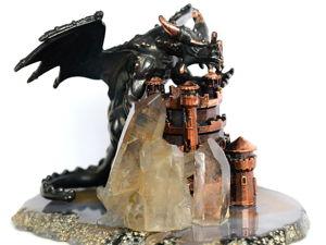 Я шатал труба твой башня!!! Подробные фото новой композиции в стиле фэнтези. Ярмарка Мастеров - ручная работа, handmade.