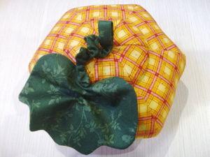 Создаем игольницу-шкатулку «Тыква». Ярмарка Мастеров - ручная работа, handmade.