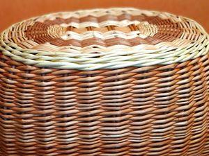 Плотное плетение – залог прочности и красоты изделий. Ярмарка Мастеров - ручная работа, handmade.