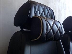 Шьём автомобильную подушку на подголовник. Ярмарка Мастеров - ручная работа, handmade.